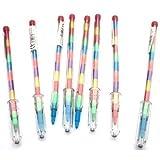 20 Malstifte mit 11 Austausch Punkte Bleistift Mehrfarbig Farbstift Schreibwaren sets Mitgebseltüte füller