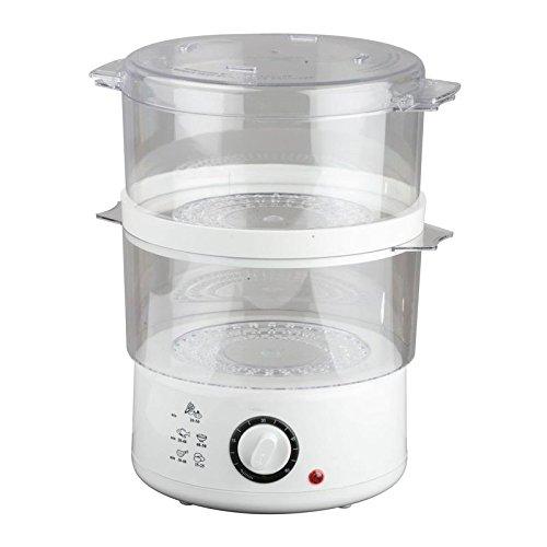 5,2 Liter Dampfgarer Dampfkocher Dampfkochtopf Reiskocher Gemüsegarer Mantowarka