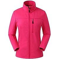 Eono Essentials Veste souple pour femme,veste softshell femme,veste femme hiver
