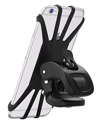 Vobon Handyhalterung Fahrrad, 360° Rotation Handyhalter für alle 4,5 - 6.5 Zoll Handys, Schwarz