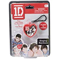 One Direction Singing Keychain