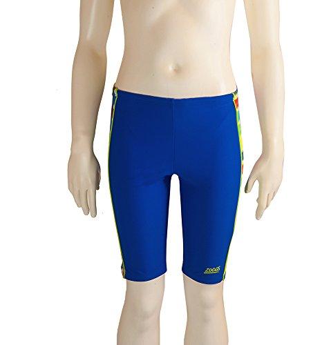 Zoggs Badehose Boy'Sundeck Splice, s, Blau blau 23-Inch/6-7 Years (Stoff Sportbekleidung Bademoden,)