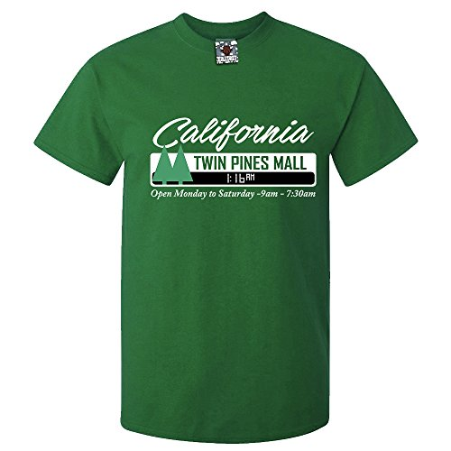 Bullshirt 's Herren Twin Pines Mall T-Shirt Grün - Irish Green