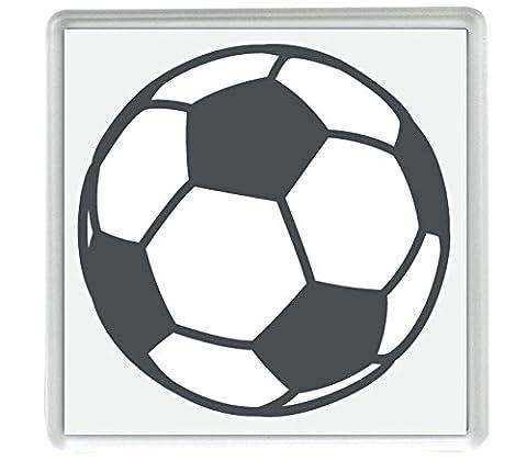 Soccer Ball Emoji Pack of 4 80mm x 80mm Coaster
