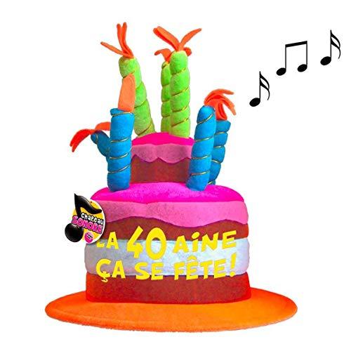 Les Trésors De Lily [Q5468 - Gorro cumpleaños Musical
