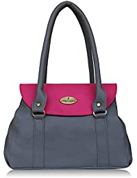 Fantosy Grey And Pink Women Shoulder Bag (FNB-718) (Grey And Pink)