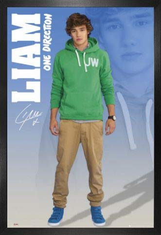 One Direction Poster und MDF-Rahmen - 1D Up All Night, Liam Payne 2012 (91 x 61cm) (One All Poster Night Up Direction)