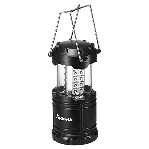 LED Campinglampe, Tquens® Zusammenklappbare, Superhelle, Wasserdichte Camping Laterne, Taschenlampe - L400 (000EH20692)