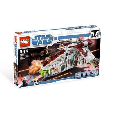 Lego - 7676 Republic Attack GunshipTM, 1034 Teile
