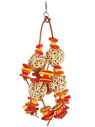 Paradise Toys geschnürt Munch Bälle, 20,3cm W von 15Zoll L -