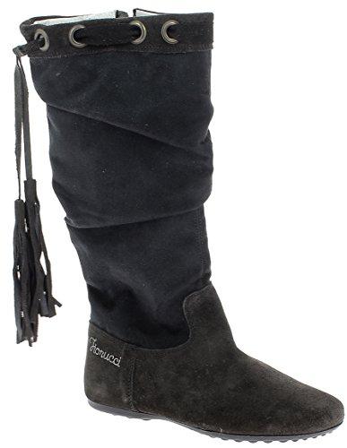 fiorucci-stivali-femmina-pelle-scamosciata-grigio-scuro-tg-31