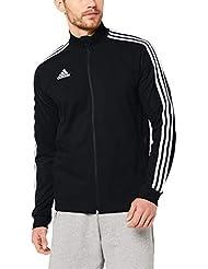 adidas Tiro19 TR Jkt, Giacca Sportiva Uomo, Black/White, L