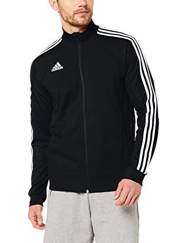 adidas Herren TIRO19 TR JKT Sport Jacket, Black/White, L Schwarze Sport Jacke