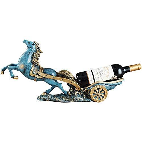 WDDP Dekoration,Wagon Wine Rack-TV-Schrank-Büro Wein Cabinet Ornamente Ornamente Hause