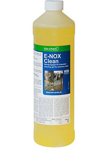 bio-chem E-NOX Clean Der hochwirksame Edelstahlreiniger 1000 ml Metallreiniger Aluminiumreiniger...