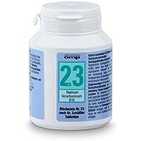 Schüssler Salz Nr. 23 Natrium bicarbonicum D12 - 400 Tabletten, glutenfrei