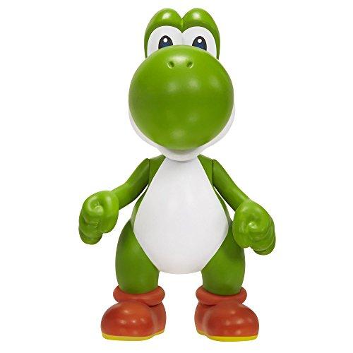 Mario Bros - World of Nintendo Super Mario Yoshi figura, 6 cm (Jakks Pacific JAKKNINYOSHI)