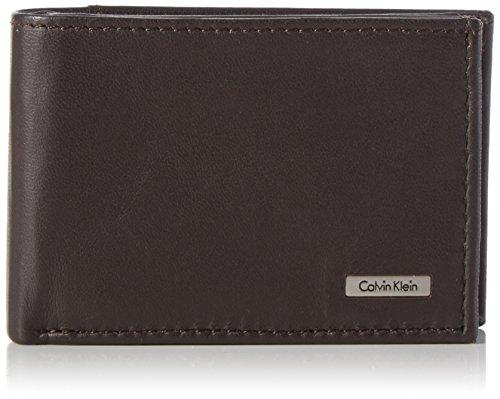 Calvin Klein Jeans RAIL 6CC K50K500694 Herren Geldbörsen 11x7x3 cm (B x H x T) Braun (Turkish Coffee)