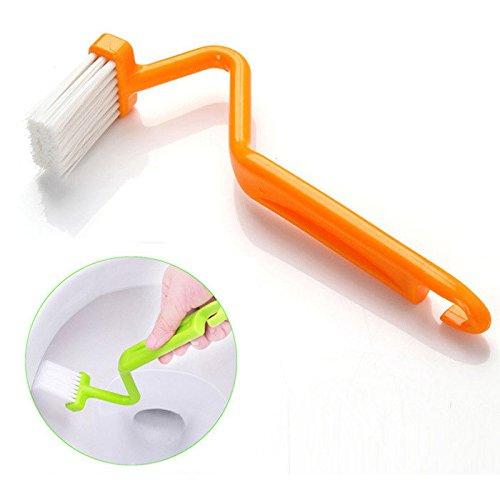 acmebuy £ š TM) portatile Pennelli Scrubber V pulizia spazzola