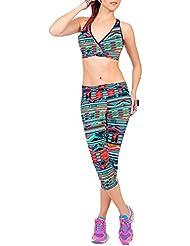 Leggins Skinny Básico Con Cintura Elástica Alta Para Mujer Style1 L