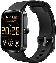 CUBOT Smartwatch Tracker Fitness Orologio Uomo Donna con Saturimetro (SpO2) Alexa Integrata, Cardiofrequenzime