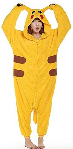 Pijama-de-invierno-unisex-tipo-mono-para-adultos-pieza-nica-de-clida-franela-con-diseo-de-Pikachu-amarillo-amarillo-XL