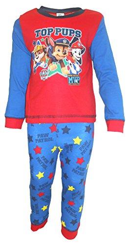 bébé garçons filles Paw Patrol Pyjama pyjama set Câlin convient à 6-9m pour 18-24M - Rouge, 6 - 9 Mois