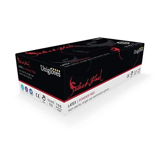Unigloves GT002 1-XS Select - Guantes látex talla