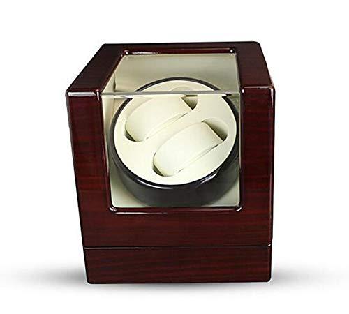 Uhrenbeweger 2 Uhren Watch Winder Automatische Uhrenbeweger Mit Japanischen Mabuchi Motor Holz Rotierenden Uhren Display Aufbewahrungskoffer Box (Mabuchi Motor Winder)