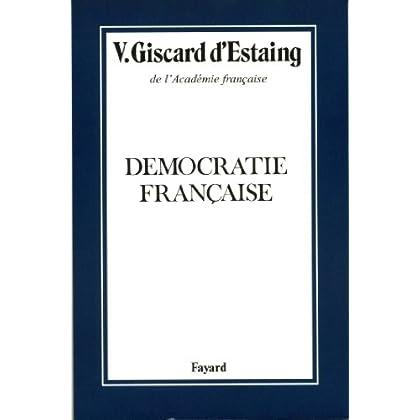 Démocratie française (Histoire Contemporaine)