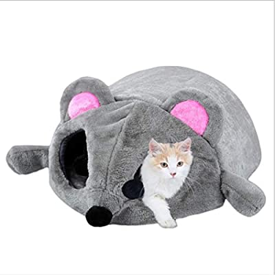 TYIOWALI Cat Bed Nest Sleeping Bag Mouse Washable Pet House Dog Teddy Dog Dog Kennel Winter Warmth from TYIOWALI