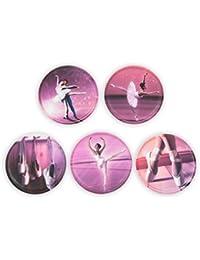 Ergobag Accessoires Klettbilder-Set 5-tlg Kletties Ballerina 003 ballerina
