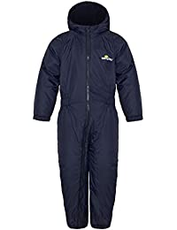 Wetplay Kids Padded All-In-One Waterproof Suit Snowsuit Childs Childrens Boys Girls