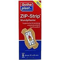 ZIP Strip wasserabweisend 72x25mm 8 St preisvergleich bei billige-tabletten.eu
