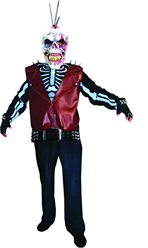 erdbeer-clown - Herren Herren Karnevals-Kostüm Set Zombie Punk, One Size, (Carol The Kostüm Walking Dead)