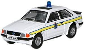 Oxford Diecast 76XR005 Durham Police Ford Escort XR3i