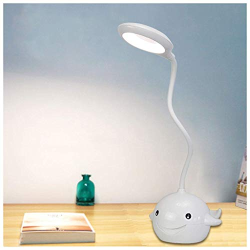 MJK Schreibtischlampe, lade touch led schreibtisch licht, augenpflege lernen tischlampe, usb lesen tischlampe, tischleuchte -