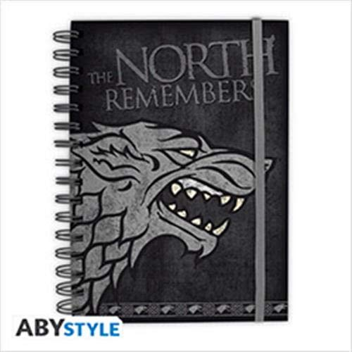 ABYstyle - Game of Thrones - Cuaderno - Stark