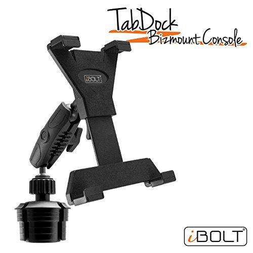 iBolt TabDock KFZ-Halterung für Tablet-PCs, robust, größenverstellbar, für alle 7 - 10 Zoll-Tablets  Ideal für alle Fahrzeuge.