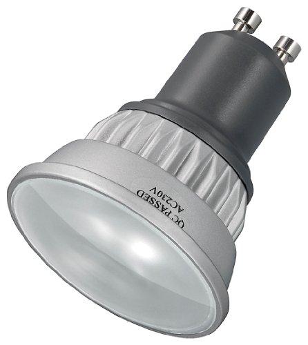 Goobay 30384 LED Spotlampe GU10 Ambient weiß mit 24 SMD LEDs -