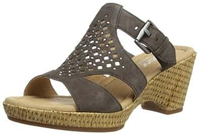 Gabor Shoes Gabor Comfort 82.744.29 Damen Clogs & Pantoletten, Grau (zinn), EU 35.5 (UK 3) (US 5.5)