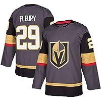 Fleury # 29 Engrasador Hockey sobre Hielo Ropa Deportiva Camiseta de Hockey sobre Hielo de Manga Larga Jersey de Equipo Sudadera Ropa de Entrenamiento Jersey Real M-3XL