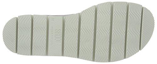 SHOOT Shoes Sh-164446dd Damen Sommer Leder Sandale Chunky, Sandali Donna Grigio (Grau (Perla))