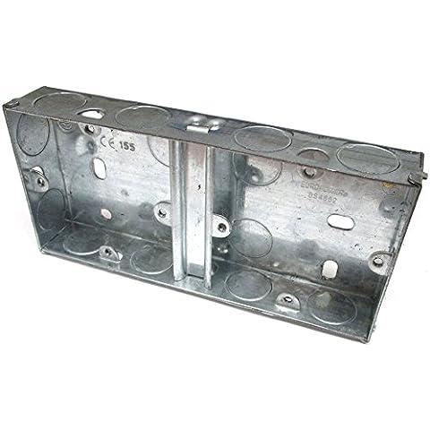 Dual 1Gang Pattress scatola da muro elettrica