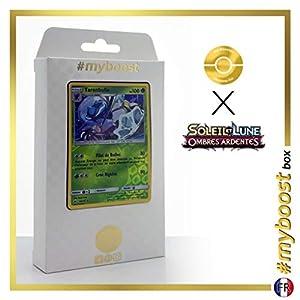 Tarembulle (Araquanid) 15/147 Holo Reverse - #myboost X Soleil & Lune 3 Ombres Ardentes - Box de 10 Cartas Pokémon Francés