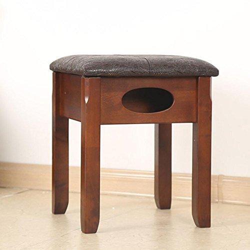 xuerui casa Sgabello in legno ménage legno massello si vestire trucco multifunzione Mobili e Accessori