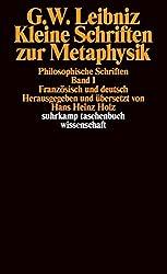 Kleine Schriften zur Metaphysik.