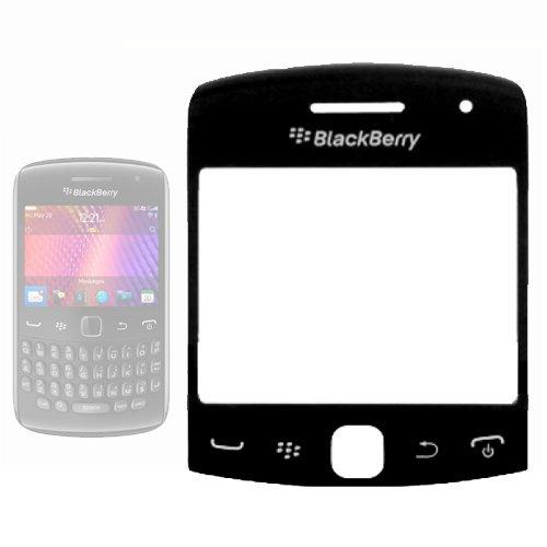 Displayglas für Blackberry Curve 9360, Ersatzteil, Schwarz Blackberry Curve Fall