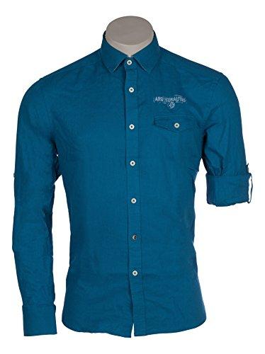 ARQUEONAUTAS -  Camicia classiche  - Uomo blu zaffiro