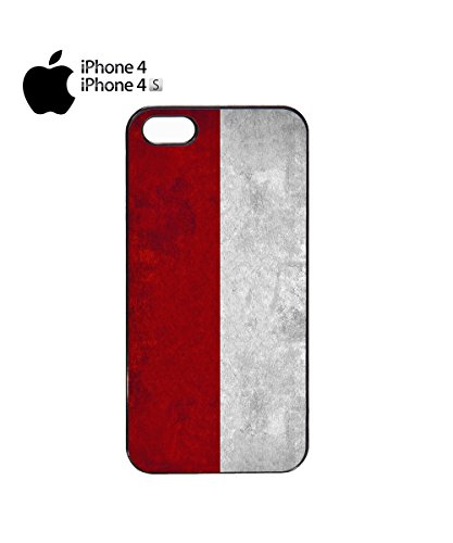 Poland Flag Vintage Retro Polska Polskie Mobile Phone Case Cover iPhone 6 Plus + White Noir